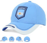 2017 berretti da baseball del cotone del blu marino lavati ricamo bianco 3D