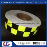 Решетка конструирует предупреждающий отражательную ленту люминисцентного материала