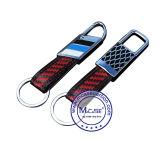 Original Western Fashion Design Metal Carbon Fiber Décoration Type d'accessoire Metal Small Key Chain