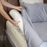 Bett StoßMomery Schaumgummi-wasserbeständiger Deckel für Kinder - Sicherheits-seitliche Kissen-Auflagen