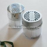 50g Matt silberne Acrylkosmetik-Sahneglas mit Ring (PPC-NEW-102)