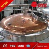 De kant en klare Rode Apparatuur van de Brouwerij van het Bier van de Bar van het Koper Commerciële