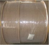 Fil de liaison en acier à double boucle pour ordinateur portable spirale HS1088