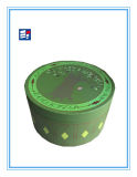 Коробка подарка Cylinderical бумаги типа способа с картоном