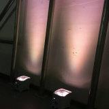 WiFi neuf 4*18W sec 6in1 Rgbaw DEL à piles UV Uplight du mobile $$etAPP de faisceau de Rasha pour l'usager 6/10CH d'événement