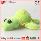 Tortuga linda animal suaves de los juguetes de peluche para el bebé