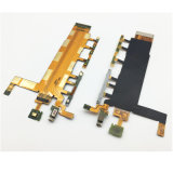 для Сони Xperia Z3 удваивают гибкий трубопровод переключателя тома кабеля гибкого трубопровода кнопки силы D6633 с вибромашиной микрофона
