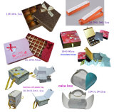 食糧/Mooncake/チョコレートのための卸し売りギフトのペーパー包装ボックス