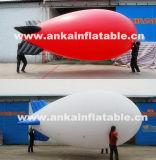 Replica gonfiabile bianca poco costosa del piccolo dirigibile del dirigibile per la celebrazione