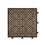卸し売り屋外のカスタム連結のギリシャ語の積層のデッキの床の敷物WPCのタイルHotsaleのための使い捨て可能なテントの床のマット