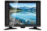 17 pouces de HD d'affichage à cristaux liquides sec neuf DEL TV de couleur
