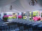Barraca de alumínio ao ar livre do partido do evento do casamento com fontes do partido da decoração