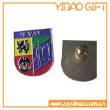 Kundenspezifisches hartes Decklack-Silber-Abzeichen für Förderung-Geschenke (YB-LP-54)