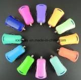 Cargador colorido al por mayor barato para USB del universal del teléfono celular del iPhone el mini, cargador del coche del USB del coche