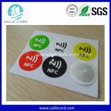 Etiqueta engomada imprimible modificada para requisitos particulares del papel de rodillo RFID NFC