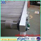 banda transportadora a prueba de calor del acero inoxidable 304 316 316L