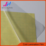 Support froid de jaune de film de laminage