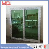 PVC & UPVC (회색과 녹색에 의하여 색을 칠하는 색깔) 사려깊은 유리제 Windows