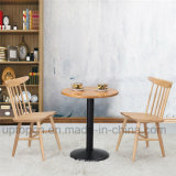 Conjunto de mobiliário de sala de jantar com mesa e cadeira de Windsor (SP-CT637)