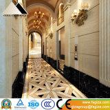 Venta caliente 600X600 lleno de mármol de cristal pulido azulejos de porcelana de aspecto (664002)