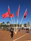 Su ordinazione impermeabilizzare e bandiera nazionale del Marocco della bandiera nazionale di Sunproof