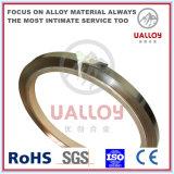 0.1*10mm 0cr13al4 chauffant le fil plat pour l'élément de chauffe électrique de poêle