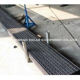 Rolo do suporte da estrutura de painel solar que dá forma à máquina