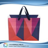 Gedruckter Papier-verpackenträger-Beutel für Einkaufen-Geschenk-Kleidung (XC-bgg-026)