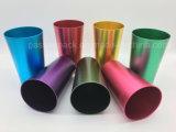 Tazza bevente di alluminio della tazza con colore rosso anodizzato (PPC-AC-011)