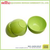 Solid Color sans bol de fruits en plastique d'impression