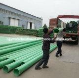 Tubo de plástico reforzado con fibra de alta Corrosion-Resistant GRP Gre tubo tubo de fibra de vidrio del tubo tubo de resina epoxi