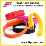 Movimentação do flash do USB do Wristband do silicone (D192)
