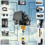 Élévateur électrique de câble métallique de poutre simple inférieure d'espace libre de la bonne qualité 10ton de Brima