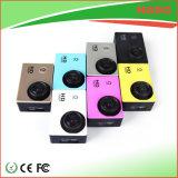 Mini macchina fotografica impermeabile variopinta 1080P di sport per esterno