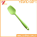 쉬운 까만 색깔은 3 취사 도구 실리콘 숟가락 검정을 요리하는 크기 Eco-Friendly FDA/Food 급료/놓인 버터 주걱 /Cake 주걱을 정리한다 (YB-HR-46)