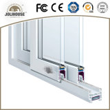Heiße verkaufenplastik-UPVC Profil-Rahmen-Schiebetür des fabrik-preiswerter Preis-Fiberglas-mit Gitter nach innen