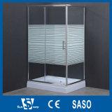 cabines carrées en verre de douche de 4mm/5mm/6mm Serigraph