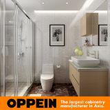 Oppein moderner einfacher HPL Badezimmer-Schrank-Entwurf (BC16-H01)
