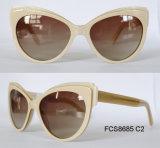 De Zonnebril van de manier van Glazen de Van uitstekende kwaliteit van de Acetaat voor Dames