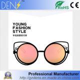 Metallgläser polarisierten Sonnenbrille-Entwerfer-Katzenauge-Sonnenbrillen