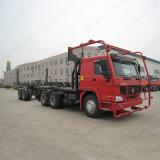 Het Hout van Sinotruk en Vervoer van Logboeken op de Vrachtwagen van het Zout met Uitstekende kwaliteit