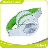 Écouteur stéréo vert de la radio V3.0 EDR avec la batterie rechargeable