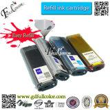 Cartucho de tinta a granel recargable con chip para HP T1100, T1100PS, T610 T790, T1300, T2300 T1120, T770, T710plotter impresora