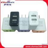 Mobiele Micro 2 van de Stop van de Muur van de Telefoon Dubbele Lader USB