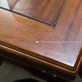 Ultima Tabella della sala da pranzo di legno solido di disegno semplice per uso domestico con buona qualità As835