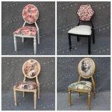 旧式なクルミカラーヨーロッパおよび米国(YC-A84)の模造木製のルイXV様式の椅子