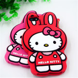 Kit Hello Kitty Cat Shape Cute 3D Silicon
