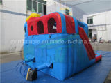 ビニールの防水シート子供のための無鉛膨脹可能な水スライド
