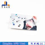 Carte sèche d'identification d'adhésion d'IDENTIFICATION RF avec du matériau de PVC