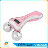 Strumentazione di dimagramento multifunzionale di bellezza del Massager del rullo di micro corrente e vibrazione